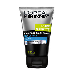Lreal Men Charcoal Icy Foam