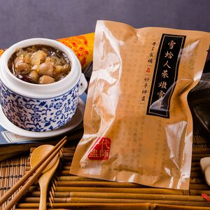 White fungus thick soup with lotus