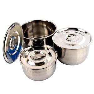不鏽鋼蓋3入調理鍋18*20*22cm