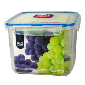 樂扣PQ方保鮮盒3L-藍色