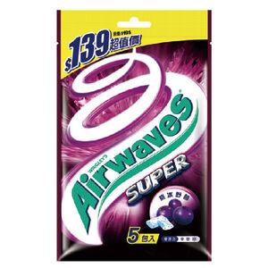 Airwaves紫冰野莓口香糖量販包