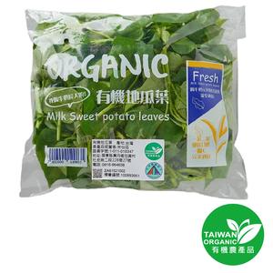 有機奶薯葉(地瓜葉)(每包約150克±10%)