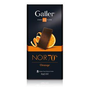 Galler70%橙香醇黑巧克力-80g
