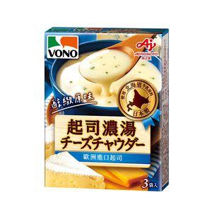 VONO醇緻原味-起司濃湯-18gx3
