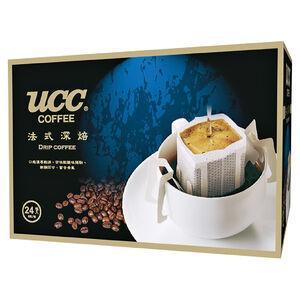 UCC法式深焙濾掛式咖啡-8gx24