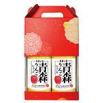 季節的恩惠100日本青森縣產蘋果汁1000mlx2, , large
