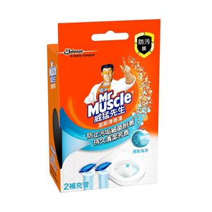 威猛先生潔廁清香凍補充管-清新海洋38gx2