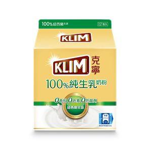 克寧100%純生乳奶粉隨手包36gx12