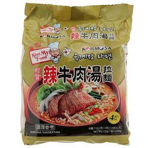 KORMOSA辣牛肉湯麵(包)110g