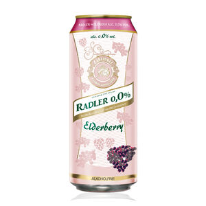 Radler non-alcoholic Elderberry
