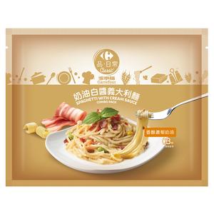 家樂福奶油白醬義大利麵1080g