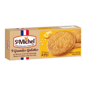 St.Michel Butter with Salt Cookies