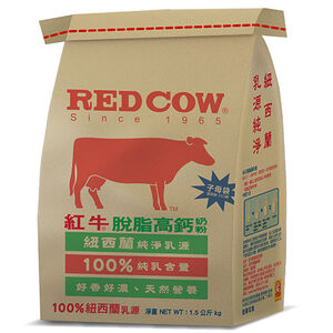 【安心價】紅RED S脫脂高鈣牛奶粉 1.5Kg