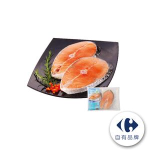 家樂福冷凍鮭魚切片