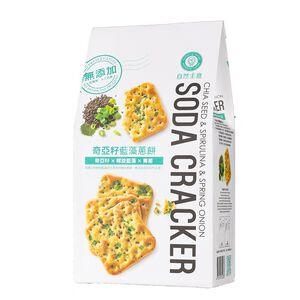 自然主意奇亞籽藍藻蔥餅-180g