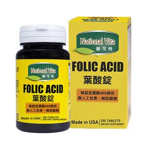 National Vita Folic Acid 400mcg Tablets