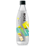 More water-lemon flavor sparkling water, , large