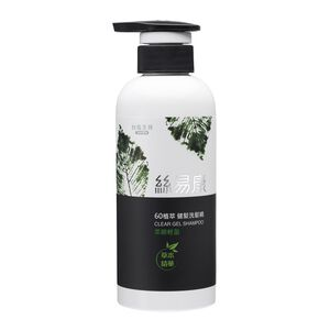 Clear Gel Shampoo smoothness and fluff