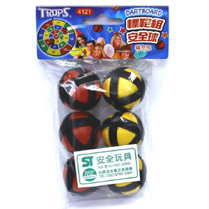 Toy ball Supplemental package (6 in)