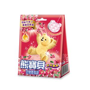 熊寶貝衣物香氛袋-芬芳香韵-7gx3