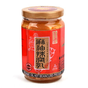 黃大目豆腐乳-麻油辣