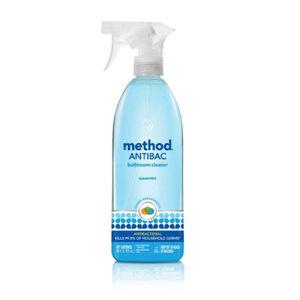 method antibacterial bathroom cleaner
