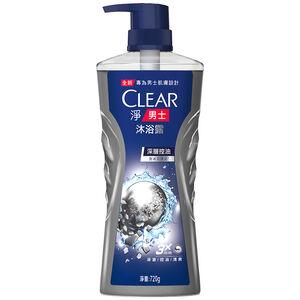 CLEAR MEN DEEP CLEANSE BW