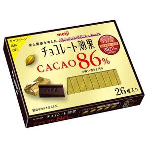 明治CACAO 86%黑巧克力26枚盒裝130g