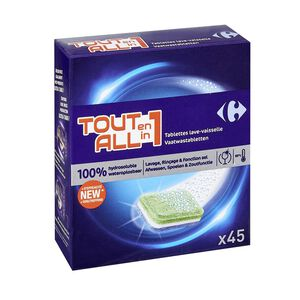 C-Dishwasher Tablets lemon ALLin1-Anti