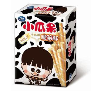 可口小瓜呆脆笛酥量販包-牛奶口味-210g