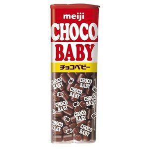 明治代可可脂chocobaby牛奶巧克力