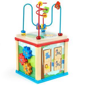 家樂福木質活動遊戲方塊 (3歲 以上適用)