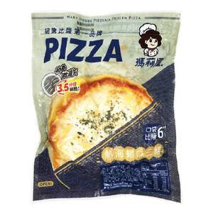 熱海蟳味三鮮比薩