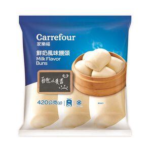 家樂福鮮奶風味饅頭420g