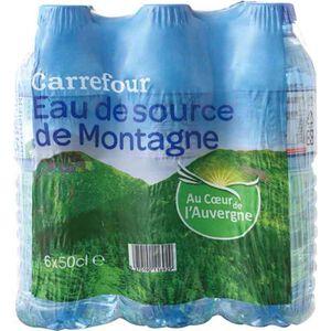 家樂福法國天然礦泉水500毫升