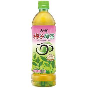 Ku Tao Plum Green Tea 600ml*6 PET