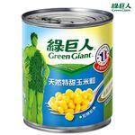 綠巨人天然特甜玉米粒198g, , large