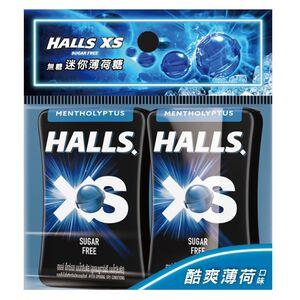 HALLS XS ML 2 pks