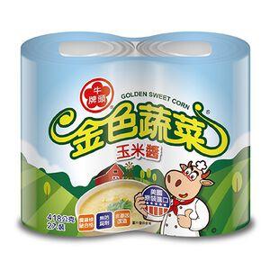 牛頭牌金色蔬菜玉米醬-418g