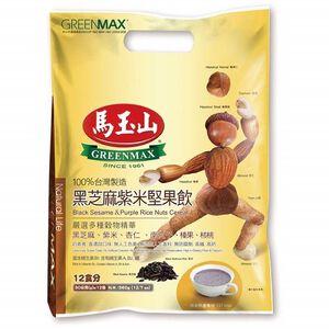 馬玉山黑芝麻紫米堅果飲 30克x12