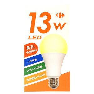 家樂福LED燈泡13W