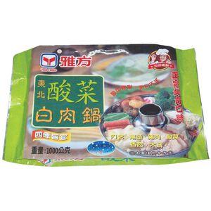 【火鍋好物】雅方東北酸菜白肉鍋