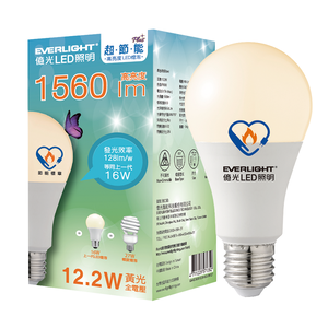 【節能燈具】億光 12.2W超節能Plus球泡燈