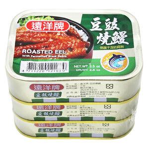 遠洋牌豆豉紅燒鰻100g