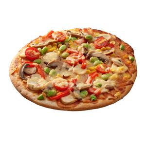 8吋蔬食菇菇披薩即食商品-到貨效期2天