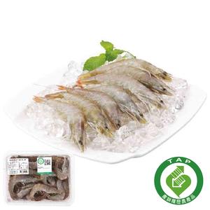 冷凍履歷白蝦(每盒約500克)