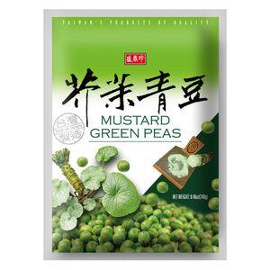 盛香珍芥末青豆-240g