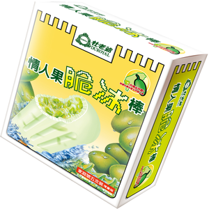 Duroyal Big Ice Bar-Green Mango Popsicl
