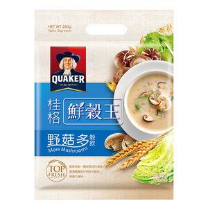 桂格鮮穀王-野菇多穀飲-26gx10