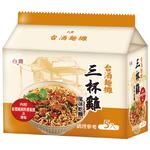 台酒麵攤三杯雞風味乾麵105g, , large
